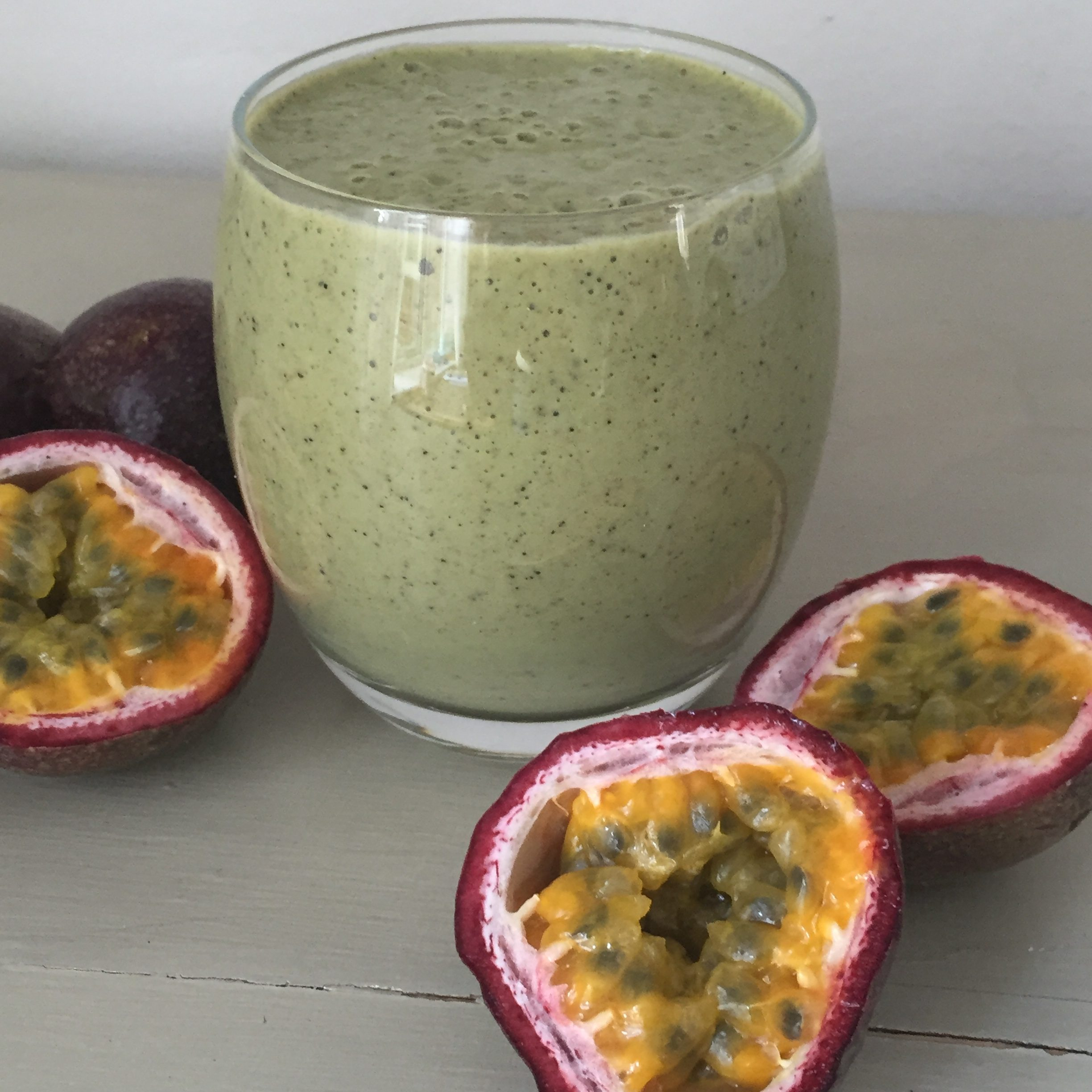 Passionfruit Green Smoothie